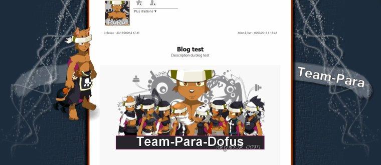[17/03/2013] - Commande Team-Para-Dofus