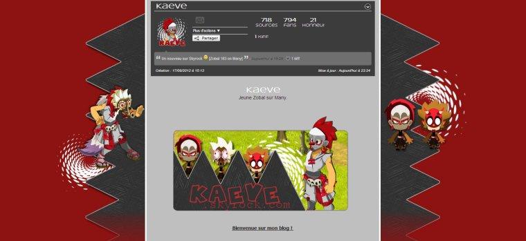[16/11/2013] - Commande Kaeve