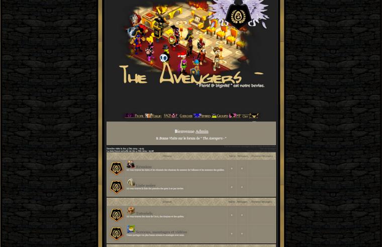 [04/12/2014] Commande The Avengers -