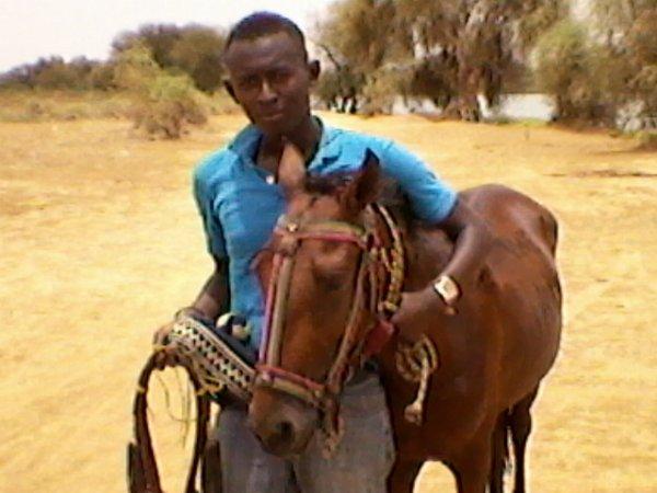 l'homme au cheval