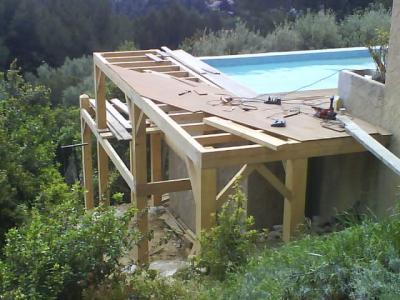 extension de terrasse - constructions décologique