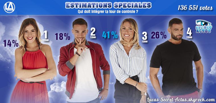 #ESTIMATIONS : Nominations Semaine 6 - BARBARA / BENOIT / CHARLÈNE / NORÉ