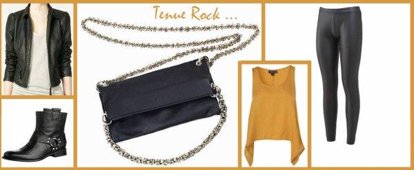 Tenue rock ...