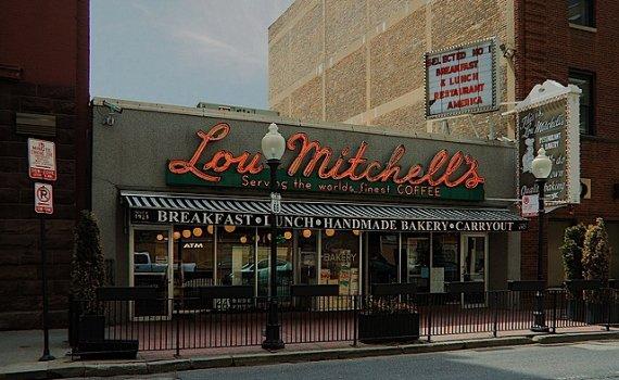"""Lou Mitchell's"""