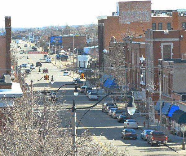 Vues de Main street à Bristow