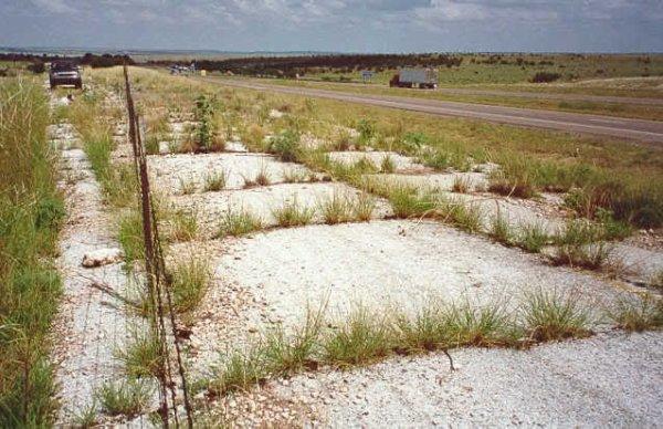 Ancienne route 66 à Depew