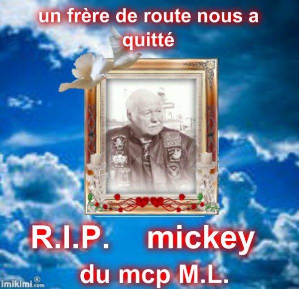 Adieu Mickey, tu va tous nous manquer..........R.I.P
