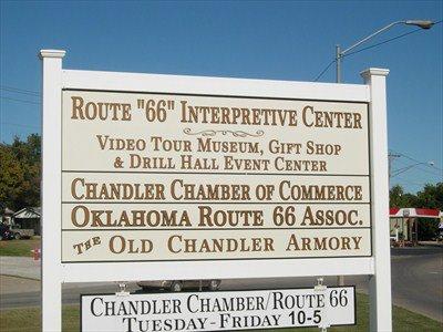 """Le """" Armory route66 interpretive center"""" à Chandler"""