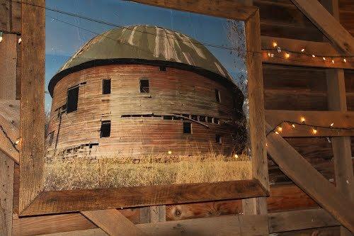 """Le """" Round barn"""" à Arcadia"""