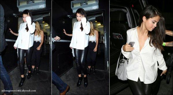 Selena Gomez de sortie ce 14 août dans West Hollywood (Californie)