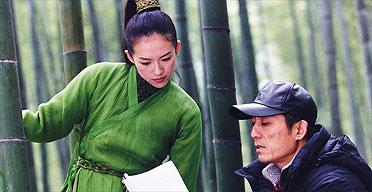 Ziyi zhang in house of flying daggers - 1 7