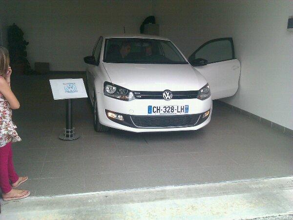 voila ma nouvelle voiture