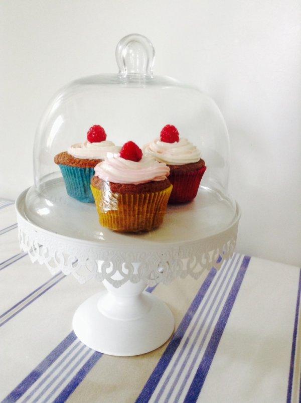 Cup cakes à la framboise