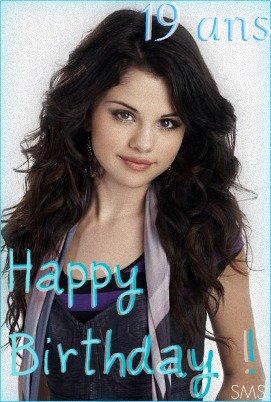 Bonne fête Selena. :)