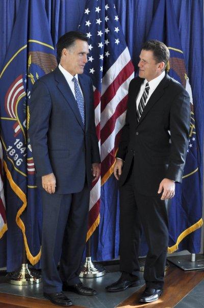 Photos with Mitt Romney an David Decker