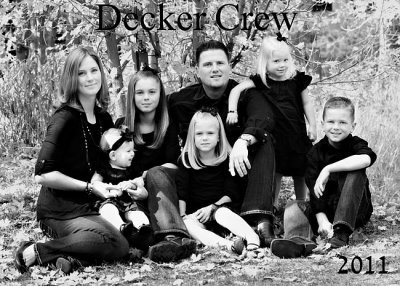 Updated Family Photos - Meet the Deckers of Utah
