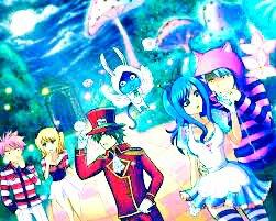 Fairy tail chapitre 3: La fête foraine