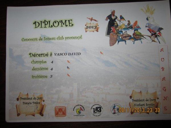 concours Aubagne 2013