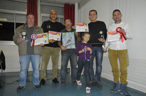 les médaillés   du championnat de France 2013 du club de istres 13