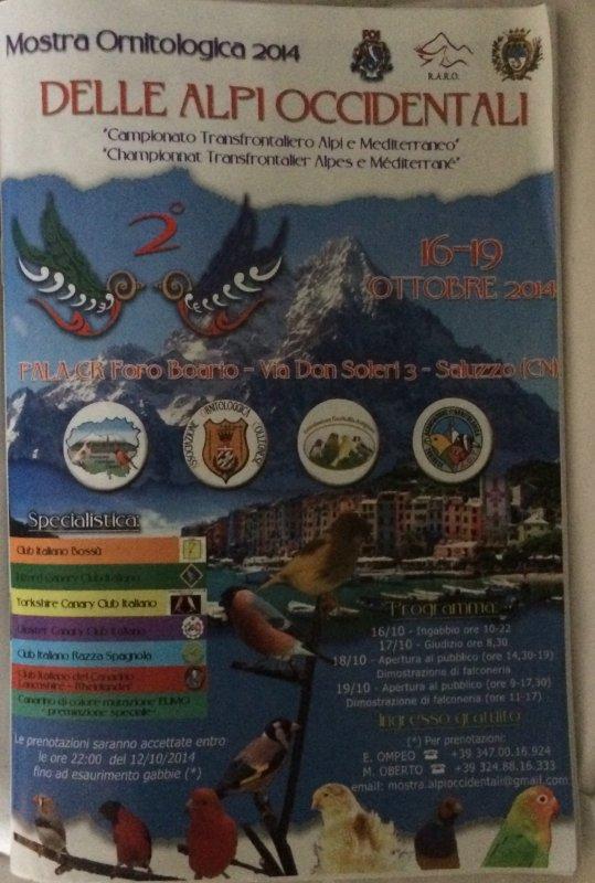 Prochain concours transfrontalier en Italie