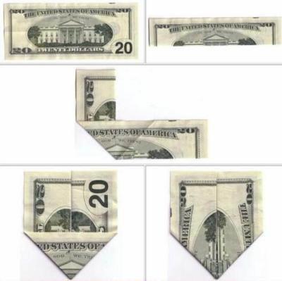 le mystere des dollards pliés