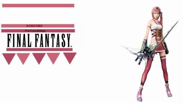 Habillage n°6 : Final Fantasy Serah Farron