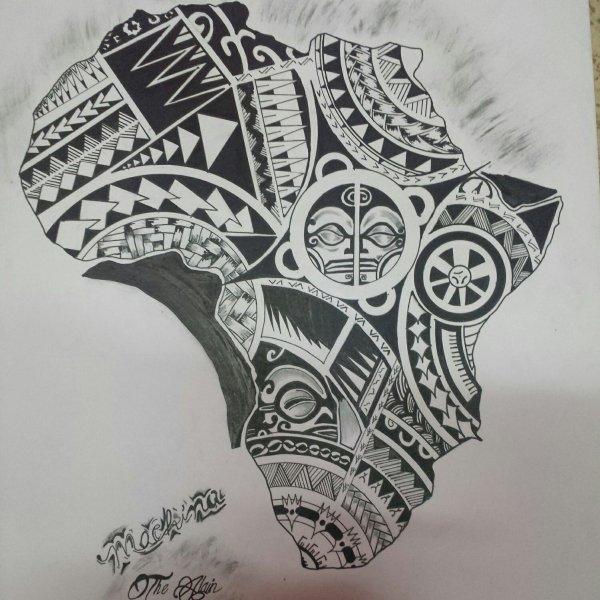 Carte d'Afrique pour tous les africains