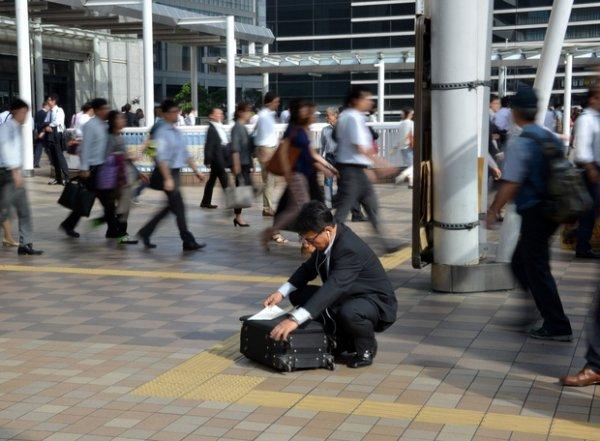 """""""Salarymen"""", ou la vie servile des employés de l'entreprise Japon"""