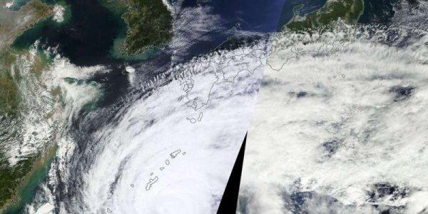 Le puissant typhon Vongfong