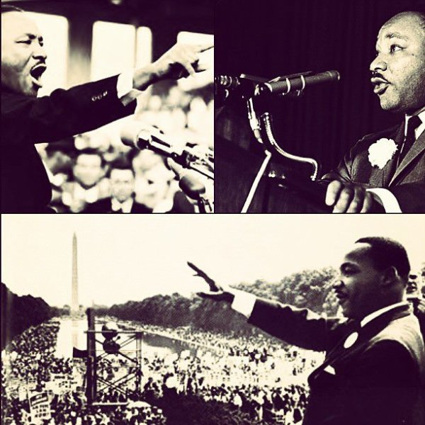 I idolize the people who sacrifice and stand up for what they believe in. #MLK
