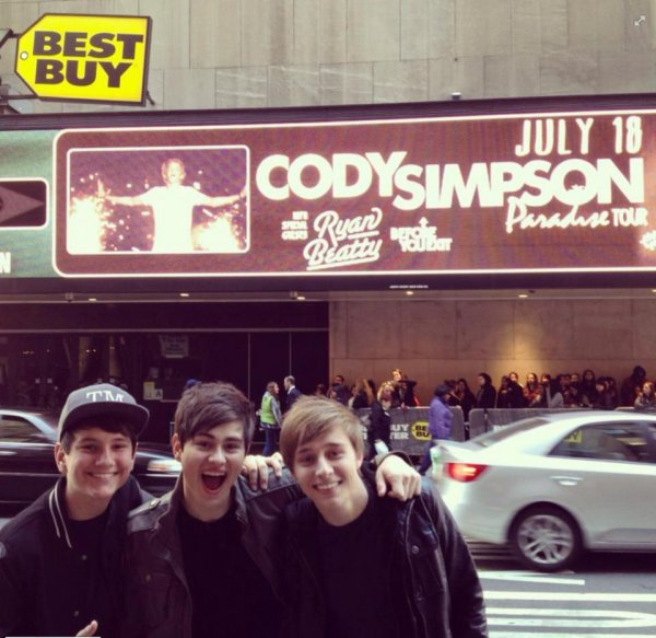 NYC! Have you get your presale tickets today?! @BeforeYouExit checked out our venue for July 18th