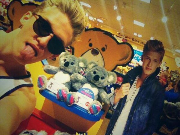 found myself in build a bear!