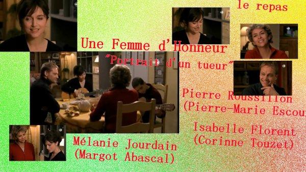 """Margot Abascal dans """"Une femme d'honneur"""" épisode """"portrait d'un tueur"""""""