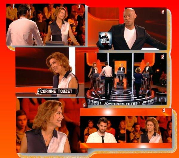 """Corinne Touzet à """"Mot de passe"""" sur France 2."""