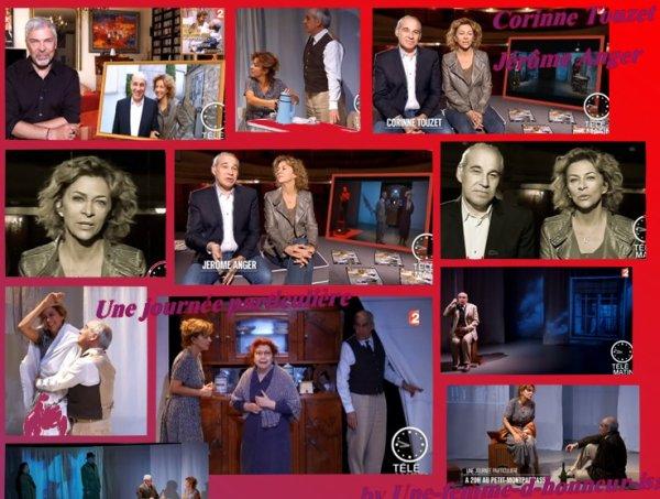 Corinne a présenté Une journée particulière à TéléMatin sur France 2