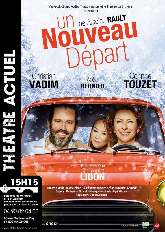 """Théâtre: """"Un Nouveau Départ"""" pour Corinne"""