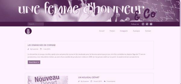 Interview de fan n°4: Une-femmedhonneur, son grand retour.