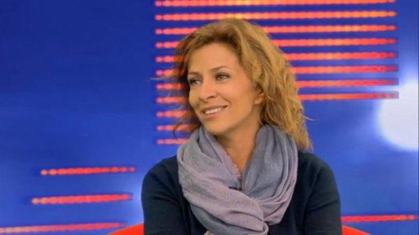 """Corinne """"Une journée particulière"""" à la télé Belge :)"""