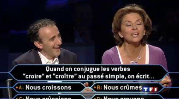 Corinne et Elie Sémoun Qui veut gagner des milions