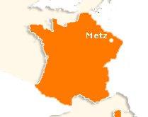 Première destination : Metz
