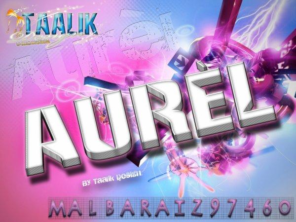 Avatar pseudo pour Aurèl
