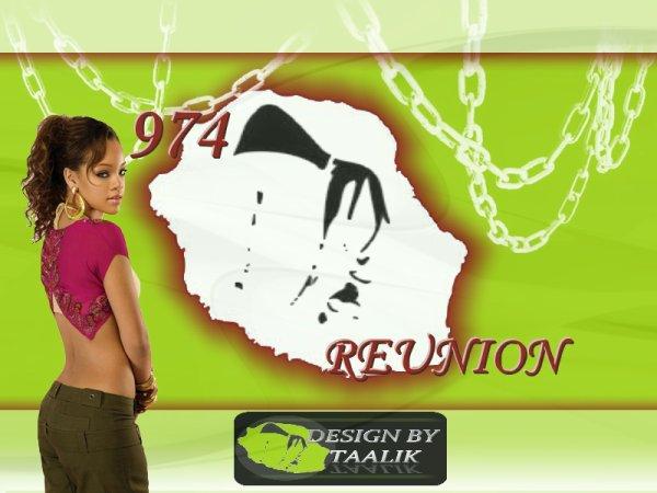 Réunion 974 Rihanna  By TAALIK Design
