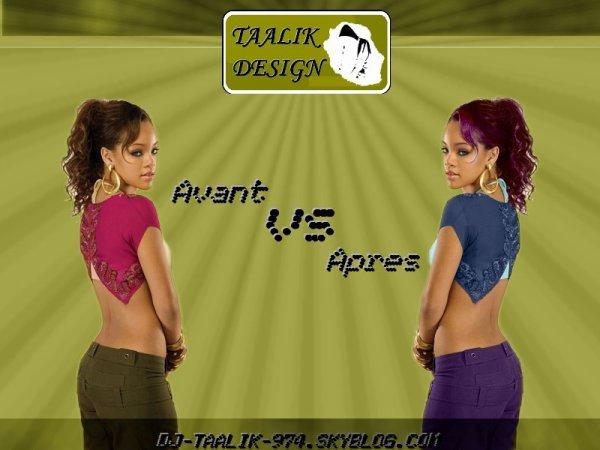 Rihanna By TAALIK Design