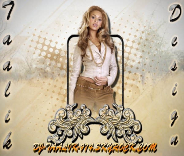 Beyonce By TAALIK Design