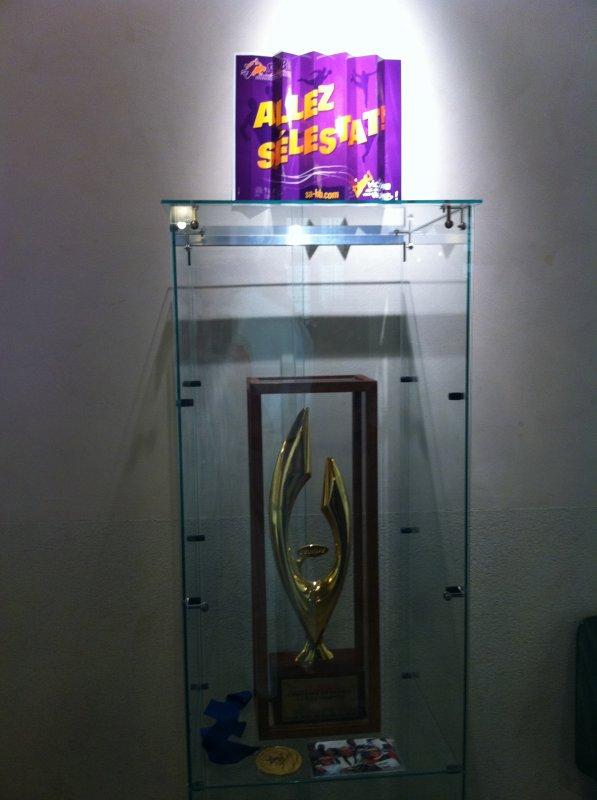 Exposition Souvenirs de sportifs sélestadiens  Inauguration en photos