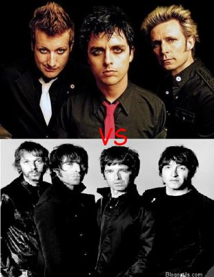 Green Day VS Oasis