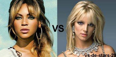Beyonce VS Britney Spears
