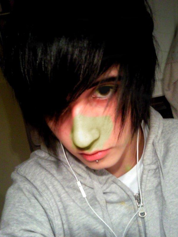 Emo Boy Hair .