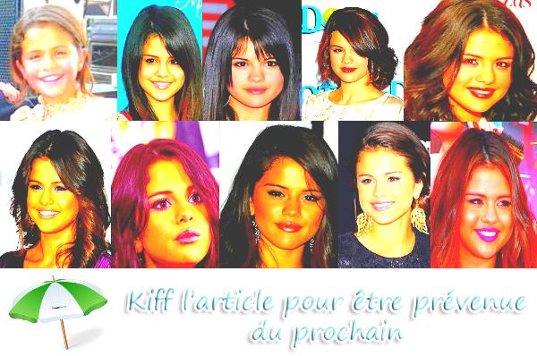 22/07/12: anniversaire de Selena !!