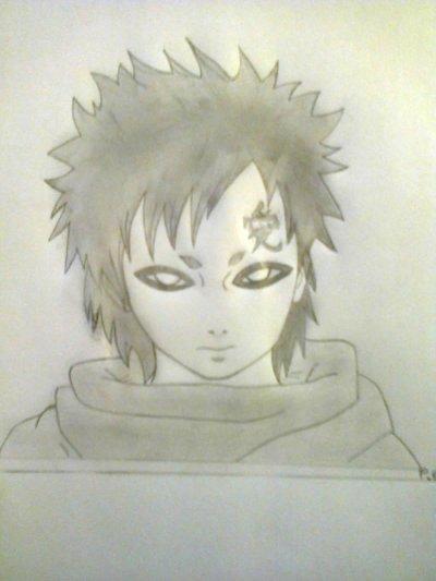 Dessin de Gaara ( Naruto )